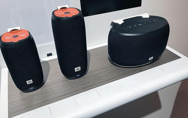 IFA 17 > Enceintes connectées Smart Home multiroom JBL Link 10/Link 20/Link 30 avec Google Assistant