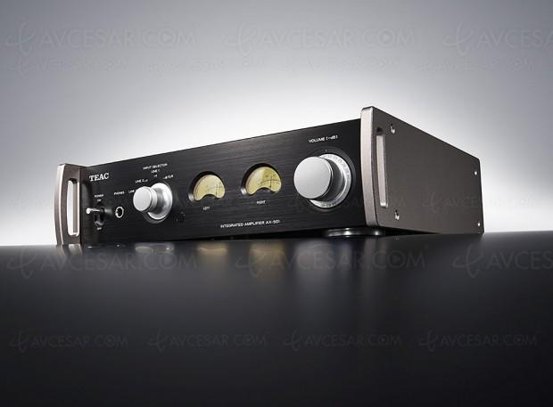 Test amplificateur Teac AX‑501 en ligne