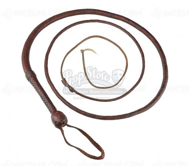 Achetez le fouet original d'Indiana Jones ! Ou plus de 600 accessoires cinéma authentifiés…