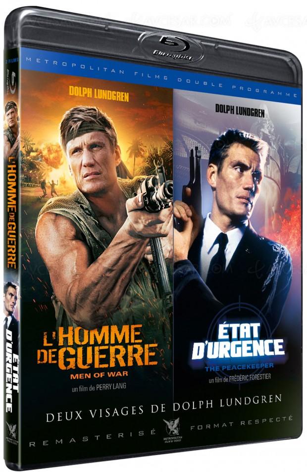 Double ration de Dolph Lundgren en Blu-Ray et DVD
