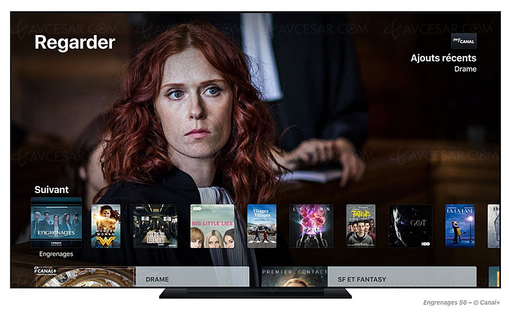 Au tour de tvOS, l'OS de l'Apple TV de leaker