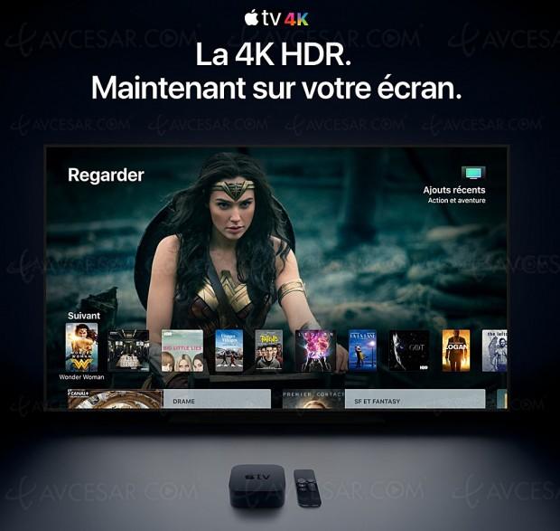 Apple TV 4K : HDR10, HDR Dolby Vision, A10X, Apple TV App… ça valait le coup d'attendre !