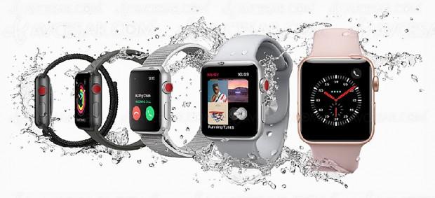 Apple Watch Series 3, libérée, délivrée… Carte Sim intégrée et processeur W2 économe