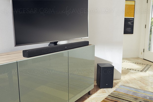 IFA 17 > JBL Bar 2.1, barre sonore Bluetooth et 300 W de puissance