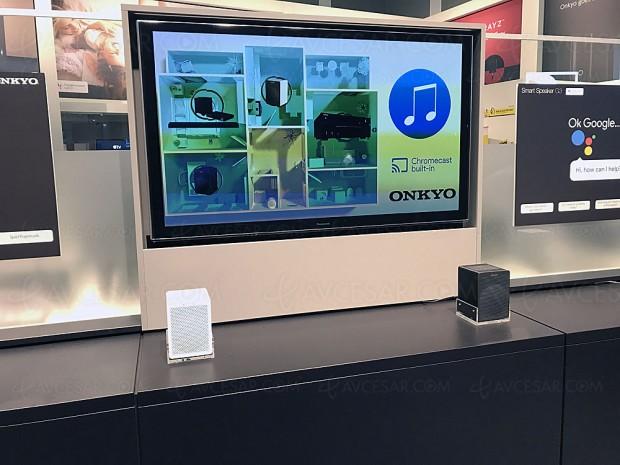 IFA 17 > Enceinte connectée Smart Home Onkyo VC‑GX30 avec Google Assistant