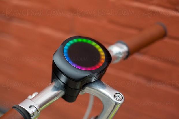 CycleLabs SmartHalo : GPS, tracker et alarme connectés pour cyclistes