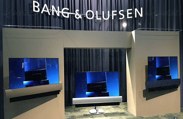 IFA 17 > TV Oled Ultra HD Bang & Olufsen Eclipse, 55'' et 65'' annoncés