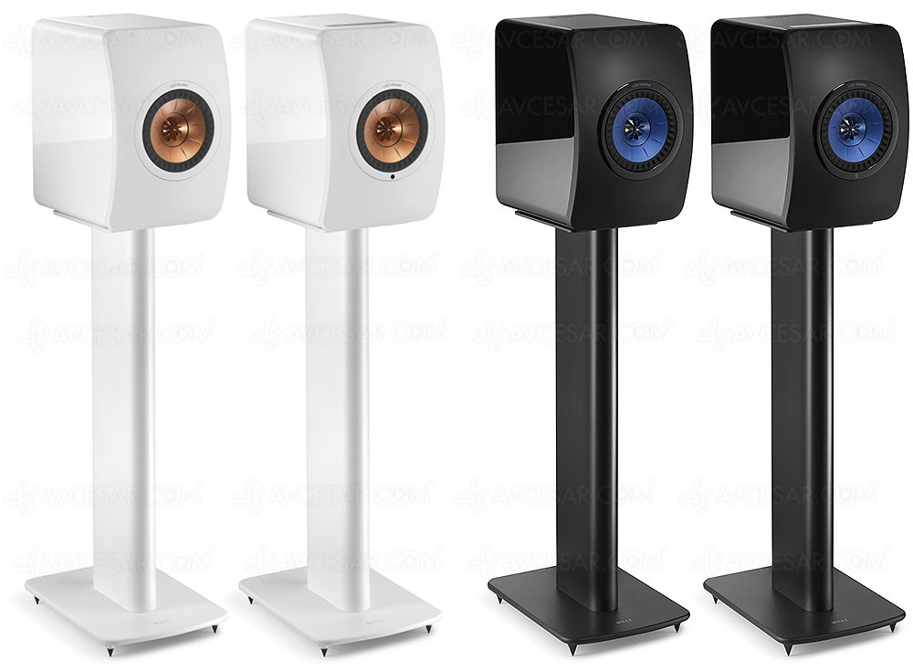 support kef performance pour enceintes kef ls50 et kef ls50 wireless. Black Bedroom Furniture Sets. Home Design Ideas