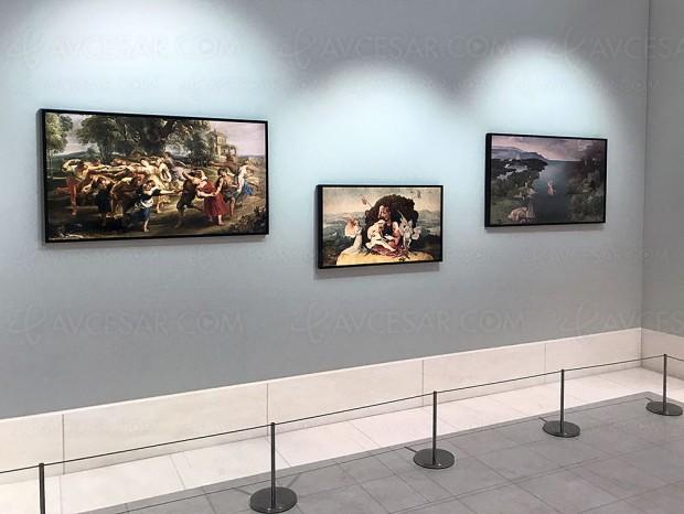 IFA 17 > TV Ultra HD Samsung The Frame, un tableau ou un cadre photo 43'' en plus des 55'' et 65 pouces