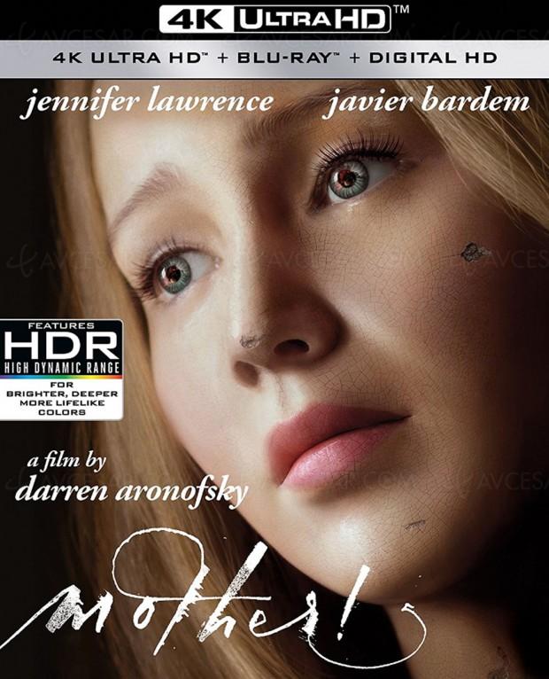 Mother ! avec Jennifer Lawrence. Les US dévoilent les 4K Ultra HD plus vite que la France