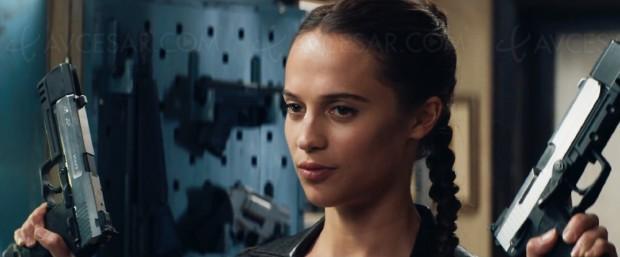 Tomb Raider avec Alicia Vikander, première bande-annonce