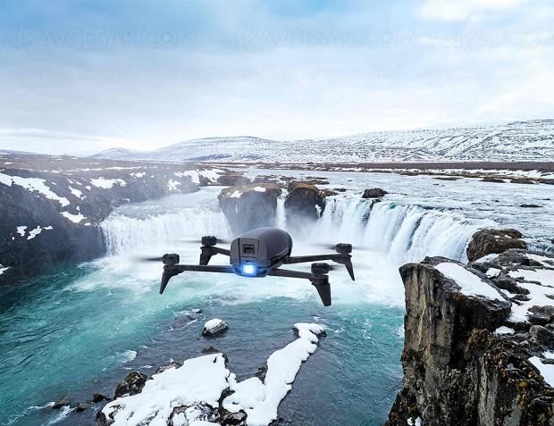 Parrot Bebop 2 Power, drone nouvelle génération et 65 km/h en pointe…
