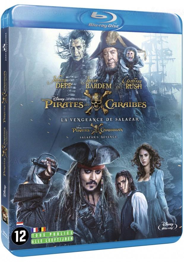 Pirates des Caraïbes: la vengeance de Salazar, non non, toujours pas de 4K UHD