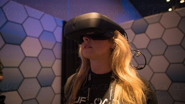 Casque de réalité virtuelle par LG compatible Steam VR commercialisé en 2018 ?