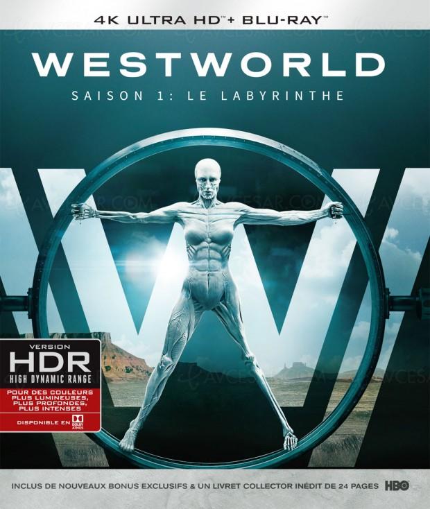 Westworld, premier 4K Ultra HD Blu-Ray et premier titre Dolby Vision/Dolby Atmos pour Warner