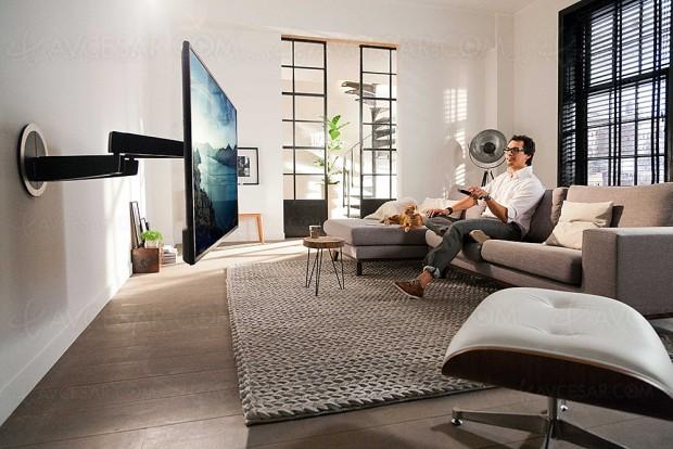 Support mural TV rotatif Vogel's MotionMount Next 7355
