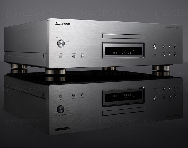 Pioneer PD‑70AE, lecteur CD audio/SACD/DVD Audio + double Dac ES9026 Pro