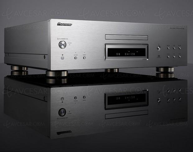Pioneer PD‑70AE, lecteur CD audio/SACD/DVD Audio + double Dac ES9026 Pro