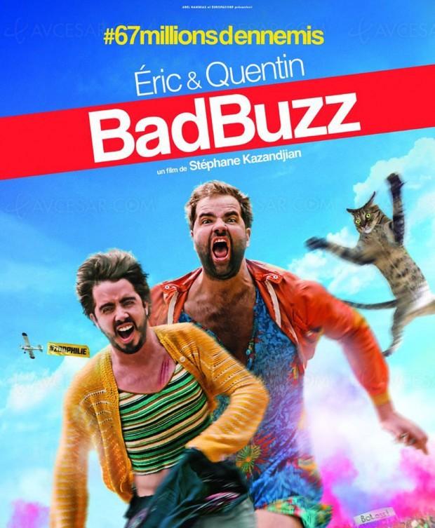 Bad Buzz : Éric et Quentin de Quotidien tentent le cinéma
