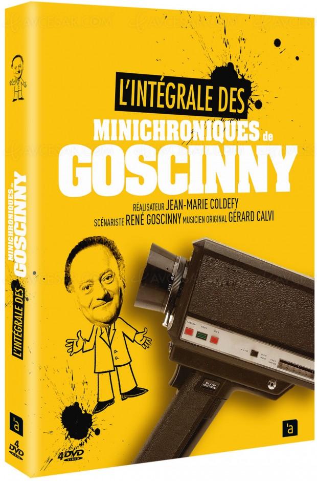 Les minichroniques de Goscinny: le retour d'une perle des années70!