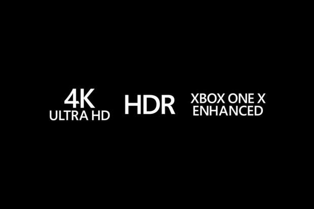 Jeux Xbox One améliorés sur Xbox One X, récapitulatif des logos explicatifs