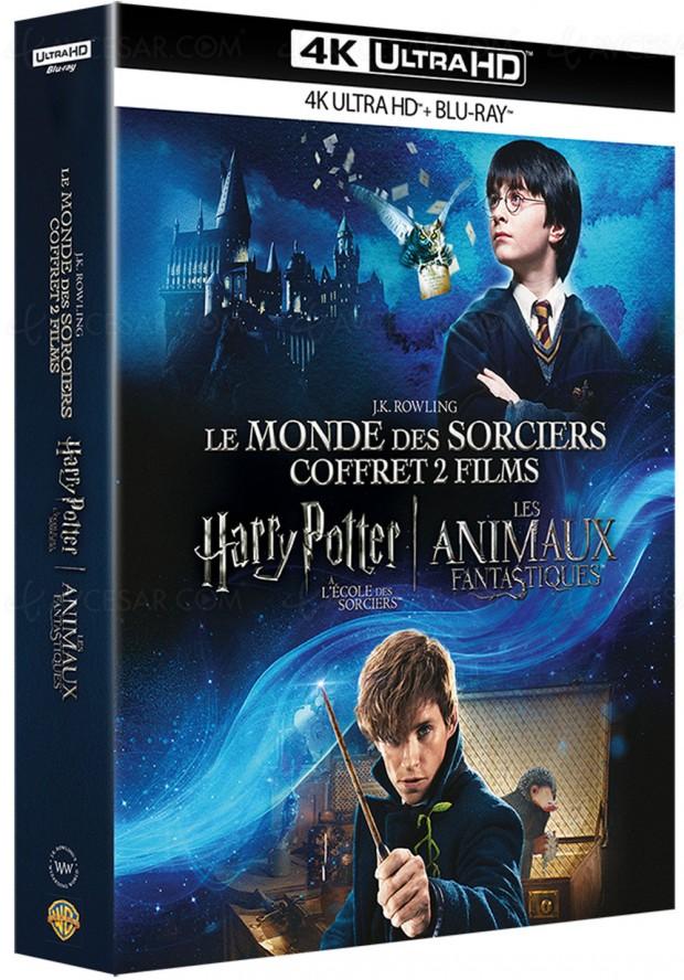Coffret Harry Potter l'intégrale en 4K Ultra HD Blu‑Ray le 11 novembre