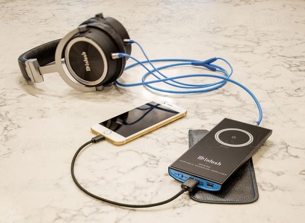 Amplificateur nomade avec Dac intégré et Bluetooth McIntosh MHA50
