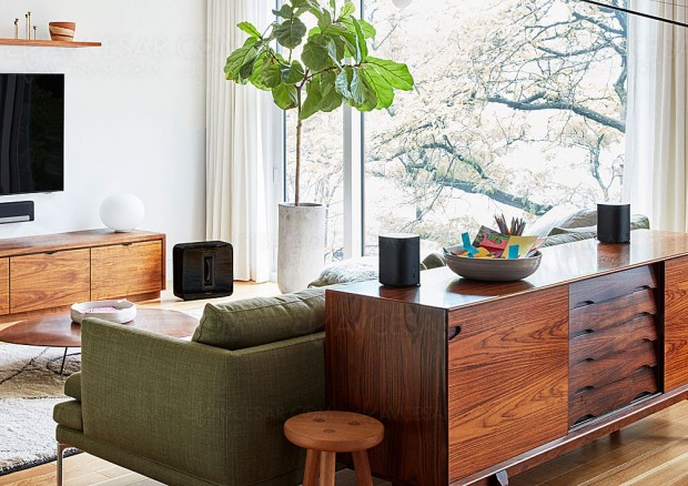 Sonos One, nouvelle enceinte multiroom Wi‑Fi avec Amazon Alexa et Google Assistant