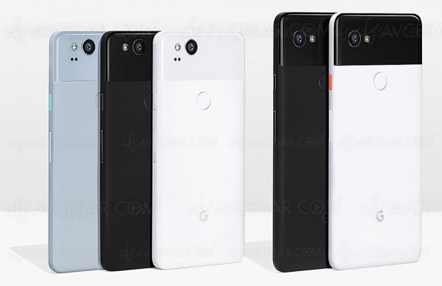 Smartphones Google Pixel 2 et Pixel 2 XL, à l'assaut de l'iPhone 8 mais pas en France…