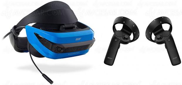 Casque de réalité mixte Acer en approche…