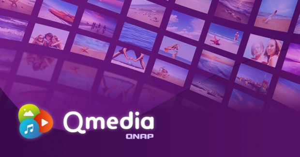 Application Qmedia Android TV repensée pour disque Nas Qnap