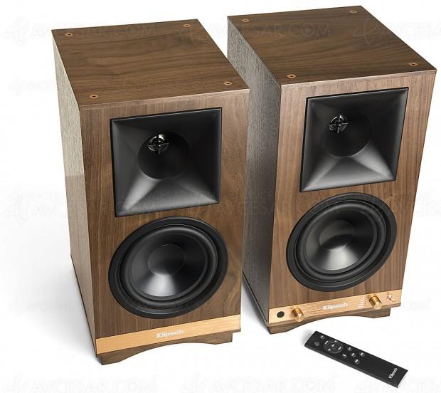 Klipsch The Sixes, pack enceintes stéréo 200 W et Bluetooth