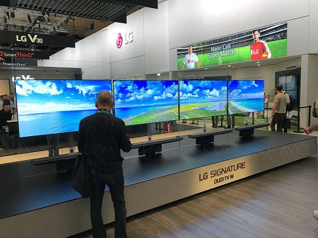 Ventes TV Oled en Corée, LG passe la barre des 10 000 unités en septembre