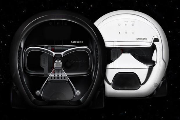 Aspirateur Samsung Star Wars, nettoyage en Force