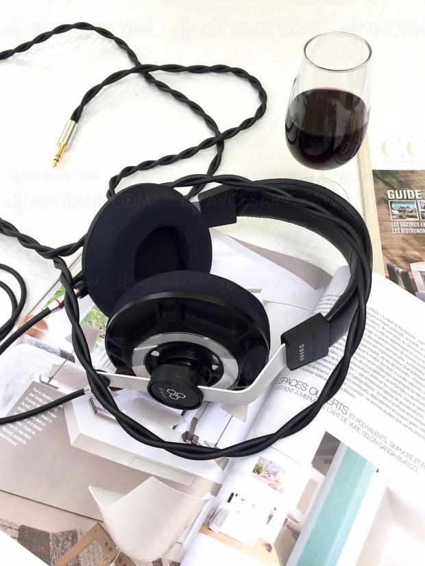 Final Audio D8000, casque planar magnétique AFDS