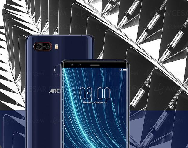 Smartphone Archos Diamond Omega, puissant, élégant et doté de quatre capteurs photo
