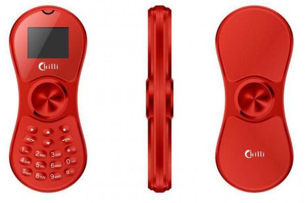 Deux-en-un en Inde : téléphone mobile K118 et… fidget spinner