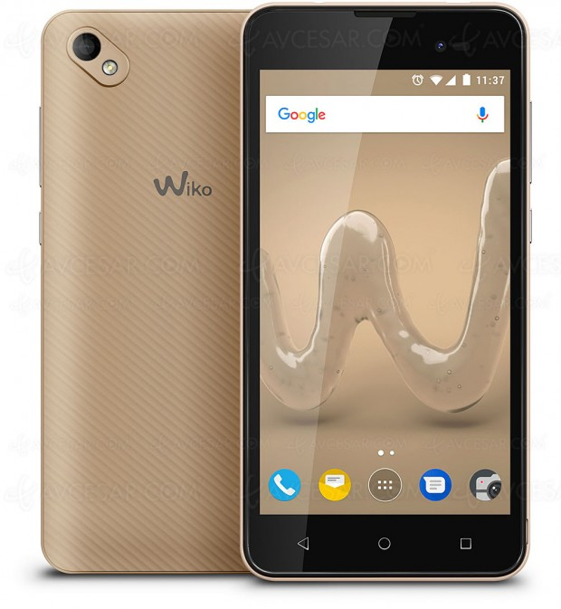 Smartphone Wiko Sunny 2 Plus , grand écran et prix accessible !