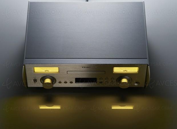 Système stéréo tout en un Teac NR‑7CD, ampli + Dac + lecteur CD audio + lecteur réseau