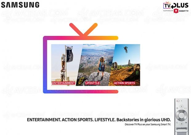 Davantage de contenu Ultra HD/4K HDR sur les Samsung Smart TV avec Insight TV