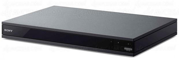 Test de la platine Ultra HD Blu‑Ray Sony UBP‑X800, en ligne