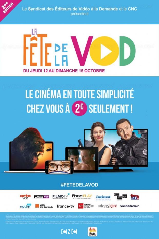 Succès pour la seconde édition de la Fête de la VOD