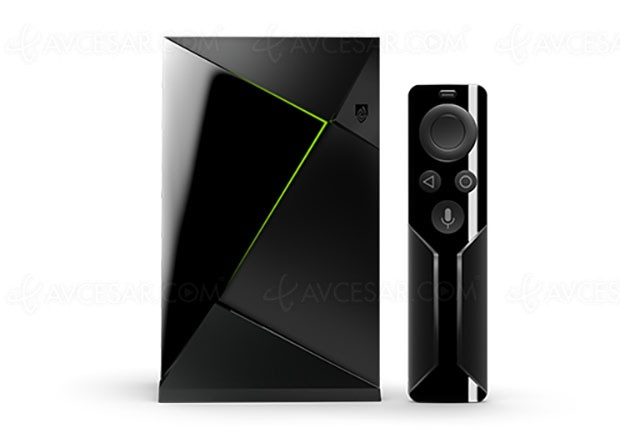 Pack nVidia Shield TV + télécommande à 199 €, disponible