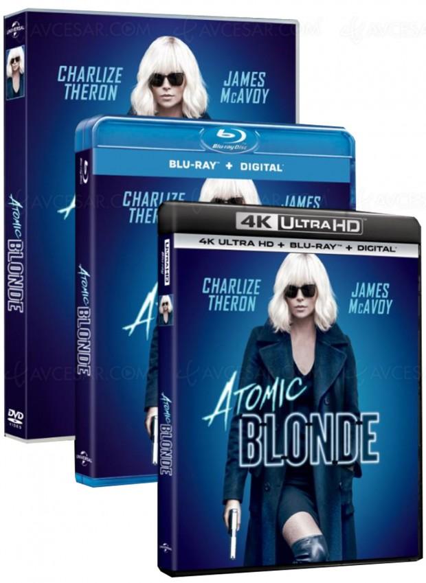 Atomic Blonde en Ultra HD Blu-Ray, Charlize Theron atomise la 4K en décembre