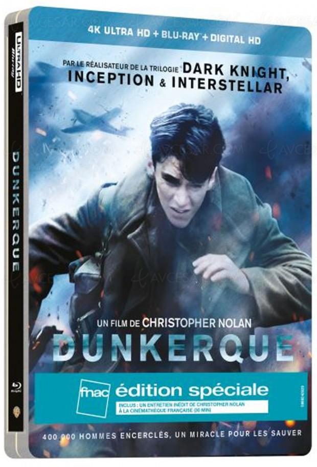 Dunkerque 4K Ultra HD Blu-Ray en précommande pour les fêtes