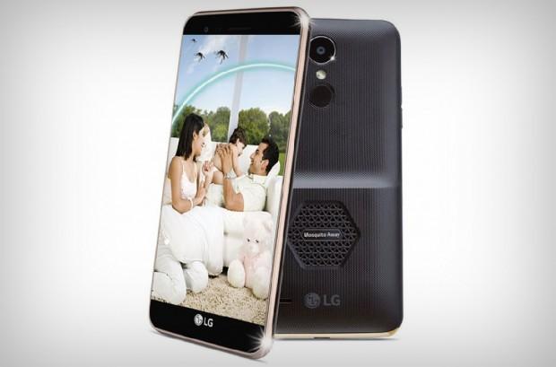 LG présente le smartphone K7i anti‑moustiques… Si, si !