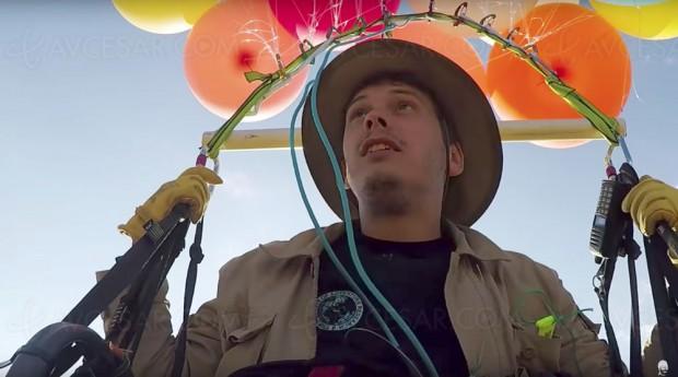 Un Britannique rejoue la scène des ballons du film d'animation Là-haut