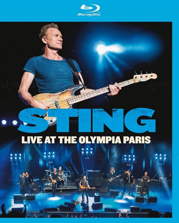 Sting : son live à l'Olympia de Paris arrive en Blu-Ray et DVD