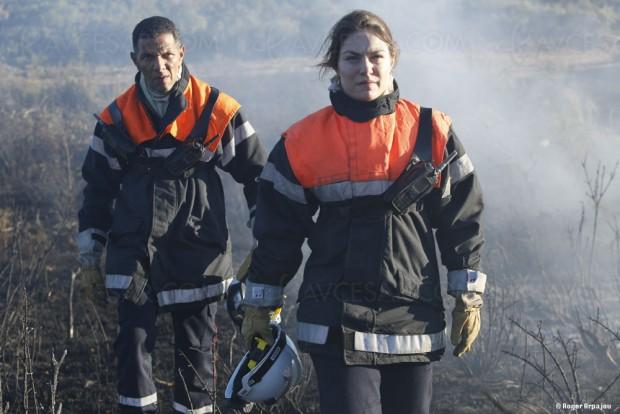 Les hommes du feu, Émilie Dequenne et Roschdy Zem réunis pour un été incendiaire