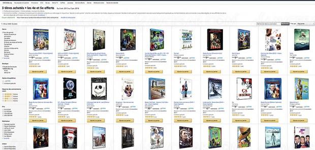 Récapitulatif promotions Amazon : Semaine Thématique, Semaine petits prix, Disney Mix… 10 410 BD/DVD et séries TV jusqu'à -40%